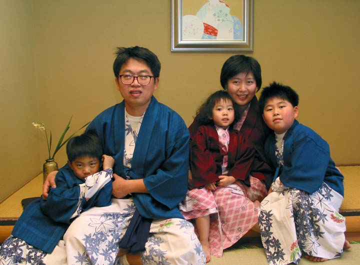 Japan family album