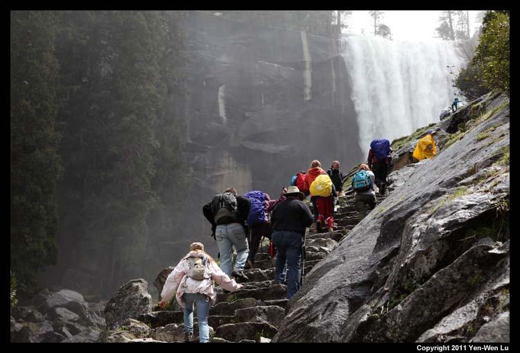 Yosemite 2011 for Rainwater falls massage